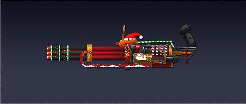 战争使命圣诞加特林