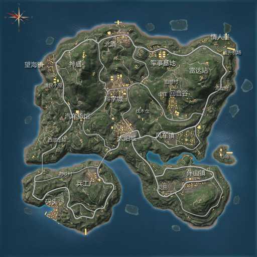 CF手游绿地地图