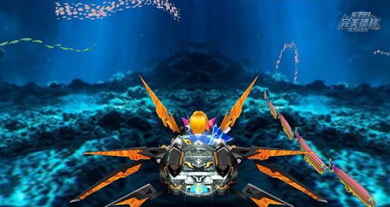 完美漂移游戏截图之海里的汽车