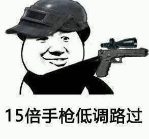 15倍手枪