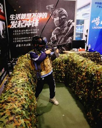 军事体育竞技游戏《特种部队VR》斩获大奖