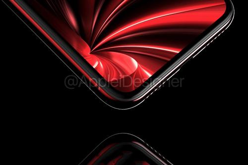 IPX红黑渲染图