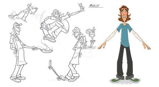 经典跑酷手游《地铁跑酷》将推出动画片 人物设计曝光