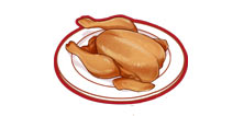 食之契约烤鸡怎么做 烤鸡有什么用食物图鉴