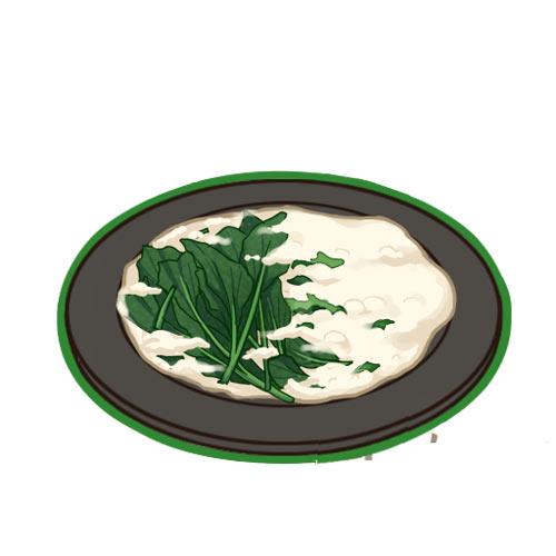 食之契約奶油浸菠菜怎麼做 奶油浸菠菜有什麼用食物圖鑒
