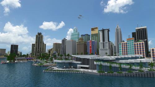 我的世界巨大城市