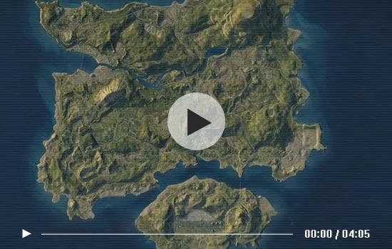 绝地求生刺激战场地图资源分布