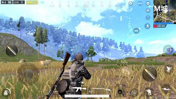 绝地求生刺激战场首测版本游戏截图抢先曝光!