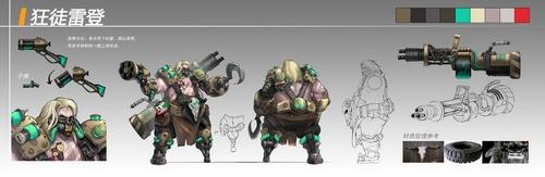 枪火战神开发者访谈第三期:邪恶的代表作狂徒雷登
