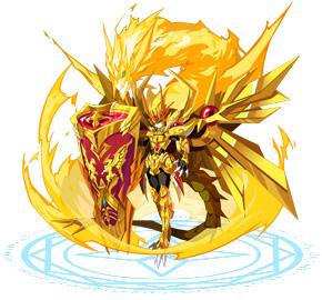 奥奇传说黄金圣盾龙尊