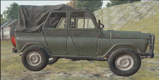 绝地求生全军出击吉普车