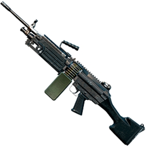 和平精英一百发枪王M249