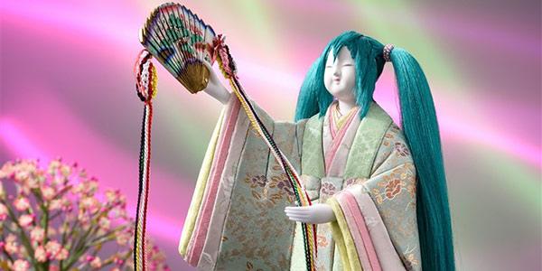 Miku你这是肿么了?日本传统老店推出初音未来雏人偶模型