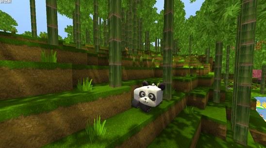 迷你世界熊猫