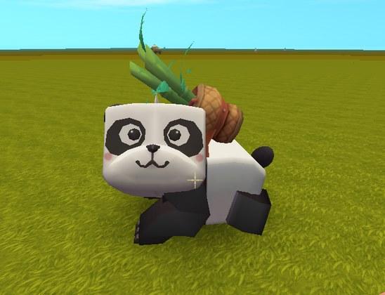迷你世界熊猫好可爱