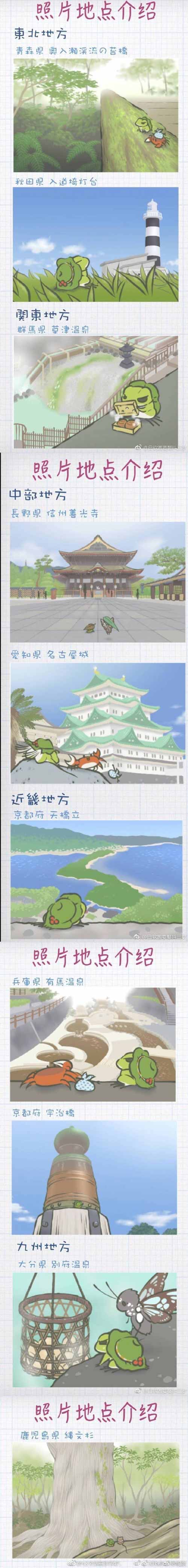 青蛙旅行相册
