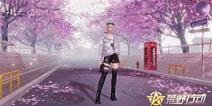 漫天樱花飞舞 荒野行动樱花主题大厅1月25日浪漫来袭