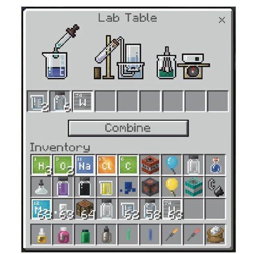 我的世界教育版即将发布化学更新 用我的世界学化学