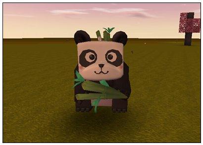 迷你世界野生熊猫