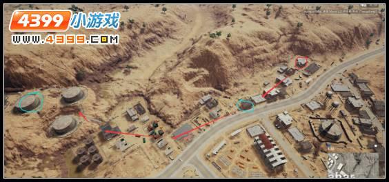 绝地求生沙漠地图EL Azahar解析 EL Azahar南部打法分享