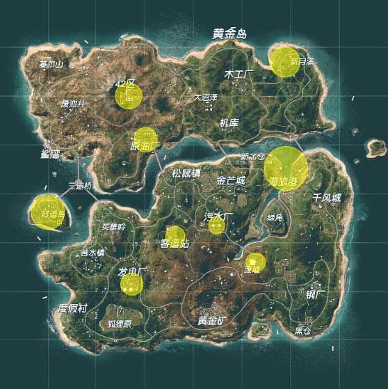 终结者2新地图哪里资源多