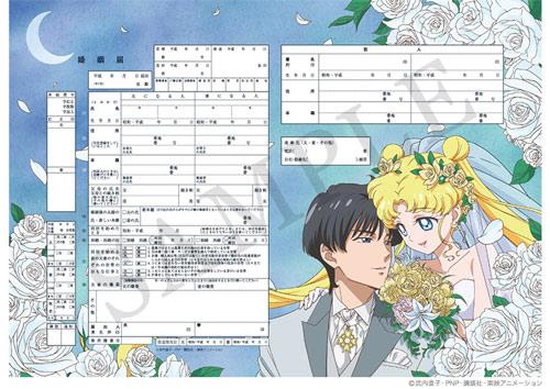 美少女战士结婚申请书