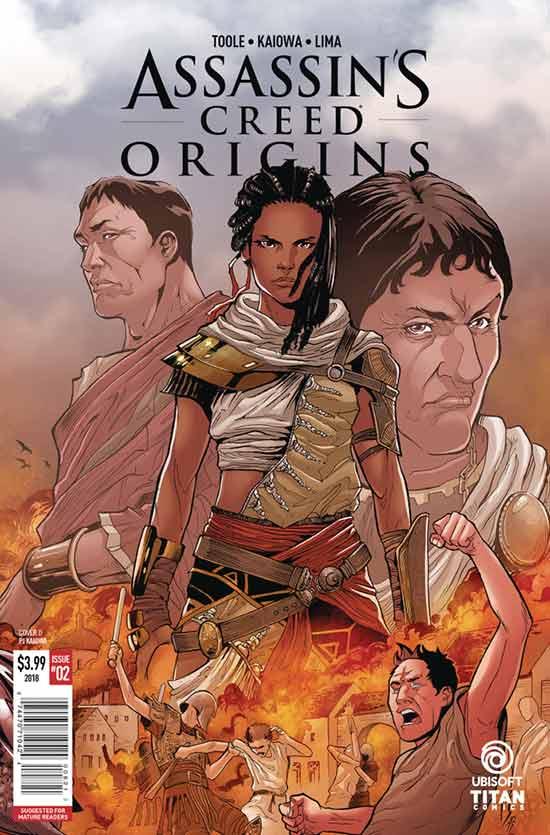 《刺客信条:起源》官方漫画将在情人节推出 阿雅或是主角
