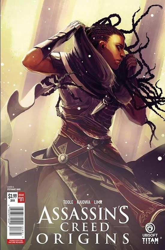 《刺客信条:起源》官方漫画将在情人节推出