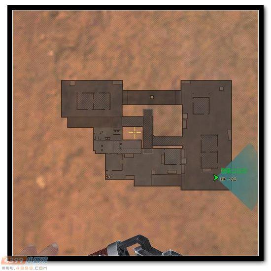 生死狙击迷雾山岭地图解析