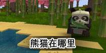 迷你世界熊猫在哪里 熊猫怎么弄