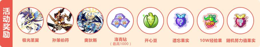 洛克王国春节活动奖励