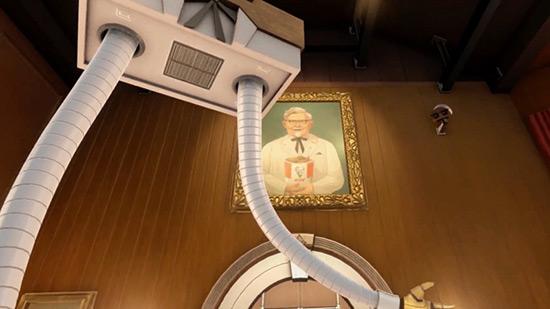 肯德基用VR游戏教员工炸鸡 学不会甭想上班