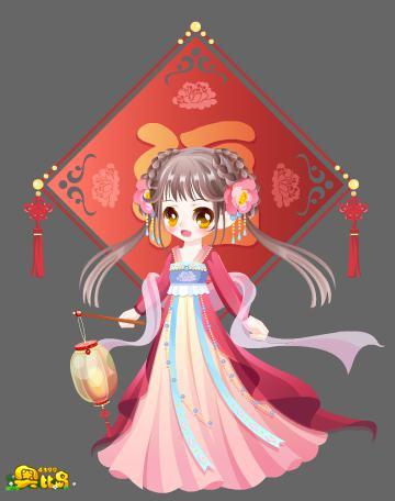 奥比岛新春萌娘装