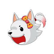 造梦西游5萨摩耶犬幻饰 造梦西游5龙女萨摩耶犬时装