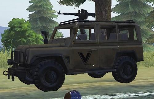 荒野行动载具