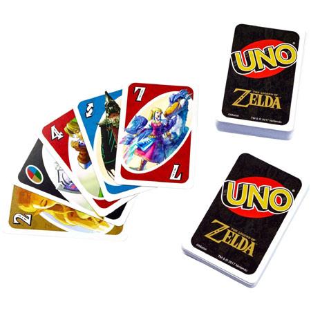 """《塞尔达传说》主题""""UNO""""2月15日正式发售"""