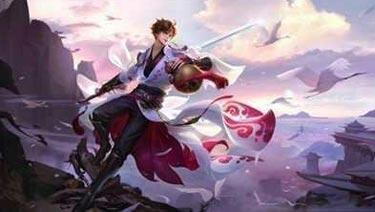 王者荣耀李白2018重做海报原画曝光