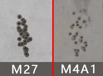 荒野行动M27对比M4A1步枪