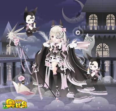 奥比岛美狄亚女巫装