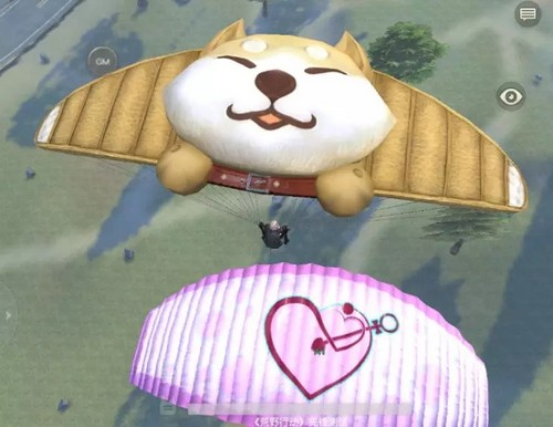 荒野行动降落伞