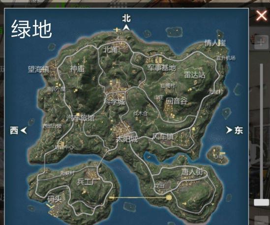 CF手游海岛地图3