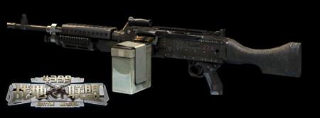 战地联盟武器M240L机枪属性 M240L机枪评分