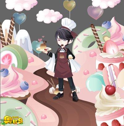 奥比岛甜品系列单品