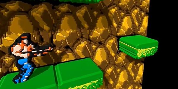 用VR玩《马里奥》《魂斗罗》是种什么样