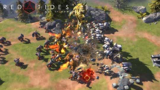 《战争艺术:赤潮》安卓删档测试开启 全球竞技大战将至