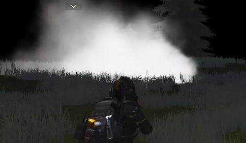 荒野行动烟雾弹