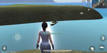 荒野行动无聊测试 再不开游戏我要直接游过去了
