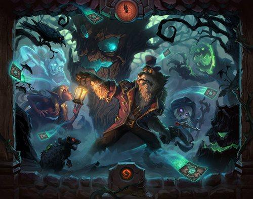 炉石传说女巫森林