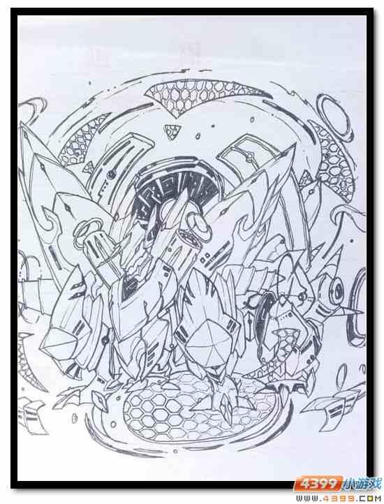 赛尔号手绘 玄武、四九的升华
