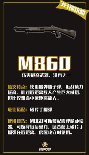 荒野行动M860